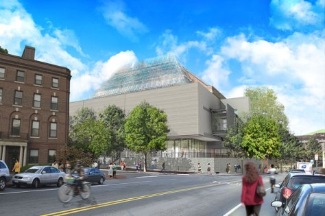 Courtesy of Renzo Piano Building Workshop The Sackler and Busch-Reisinger museums will be prominently located in a new addition at the corner of Broadway and Prescott streets
