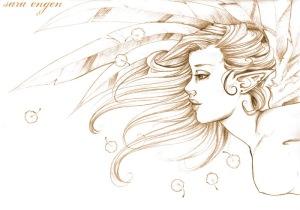 Ilustrasi Angel