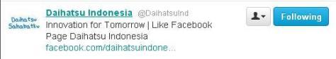 @Daihatsuind