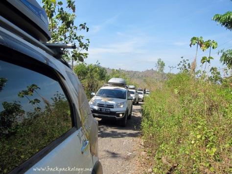 Daihatsu Terrios di menuju Desa Palama