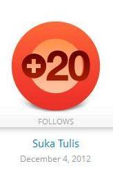 Followers Tahun Lalu