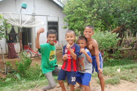 Foto: Anak-anak di Panga, Aceh Jaya.